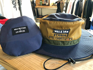 WALK INN STUDIO × LIFE GOES ON コラボハット