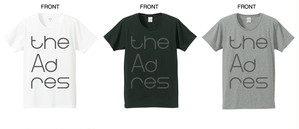 the AdresバンドロゴTシャツ
