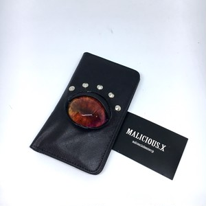 reptiles  eye smartphone  case / red marble