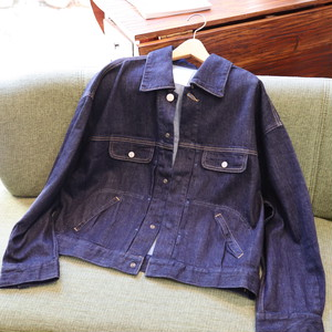 「Antgauge」Loose  denim  blouson