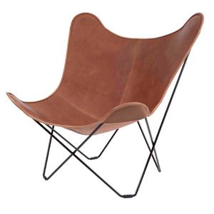 BKF BUTTERFLY CHAIR MARIPOSA BROWN LEATHER
