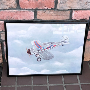 R.A.F. Gloster Gladiator K8032 Picture & Frame