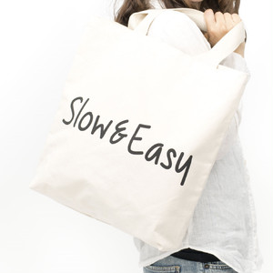 [ the HAMP works ] TOTE_BAG B-5 :  Slow&Easy