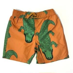 ミニロディーニ(minirodini) - Crocco SWIMSHORTS 【brown】[80/86・92/98・104/110・116/122]