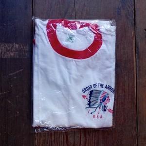 """N.O.S 1960s Allison """"BSA"""" Ringer Tee / デッドストック ヴィンテージ ボーイスカウト リンガー Tシャツ"""