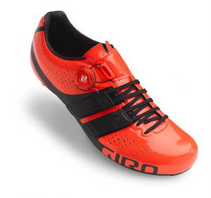 GIRO FACTOR TECHLACE / Vermillion/ Black