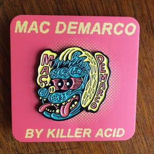 "KILLER ACID PINS ""MAC DEMARCO"""