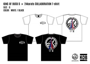 KING OF BUCK 6 × 24karats COLLABORATION T-shirt