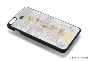FLASH STAR WARS 基板アートiPhone6/6s Plus ケース  白【東京回路線図A5クリアファイルをプレゼント】