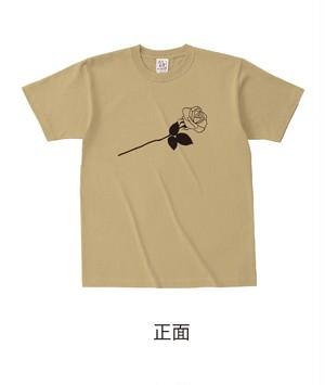 ★受注販売★ 復刻「ROSE」セミオーダーT-shirts [ボディカラー:サンド] (7月下旬から順次発送開始予定)