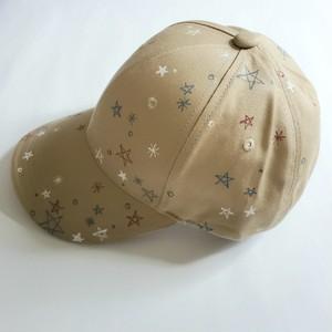 キラキラ星アウトドアキャップ 「星いっぱい」