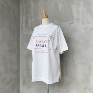 THOMAS MAGPIE/However smallプリントTシャツ【BIG】