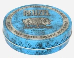 【店頭販売のみ】Reuzel Pomade -BLUE-(ルーゾーポマード ブルー) 【水溶性: ストロングホールド】