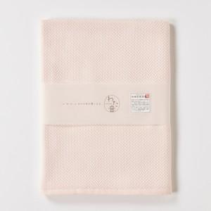わた音カラー ヘリンボーン織り バスタオル/桃色 1-65608-11--P