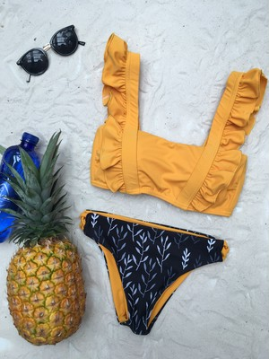Reversible shoulder up bikini 05