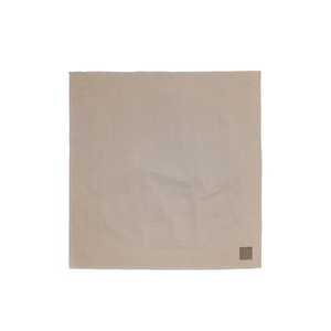 Used Coffee Ground-Dyed Handkerchief