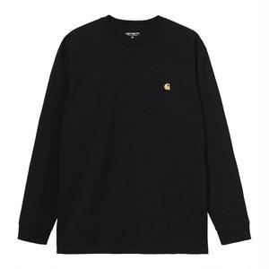 Carhartt (カーハート) L/S CHASE T-SHIRT - Black / Gold