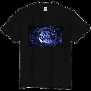 """Eartharium"" Artgraphic T-shirt (Black)"