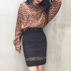 90's FENDI mini skirt