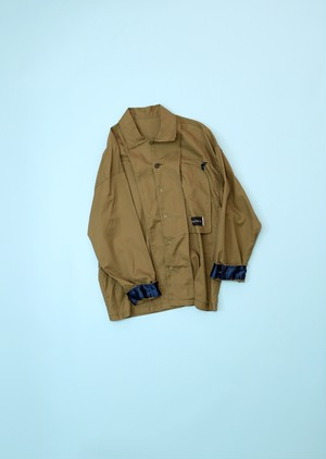 INSIDE OUT SHIRT [KHAKI]