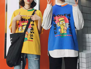 【HOT】Can't TouchデザインTシャツ 3カラー