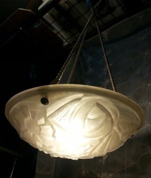 アンティーク照明 フランス・デュゲ(1920年代)