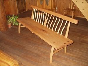 木製ベンチ kbc-1