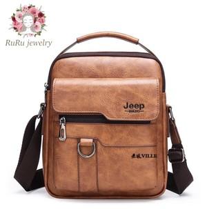 Retro style genuine leather shoulder(bag)