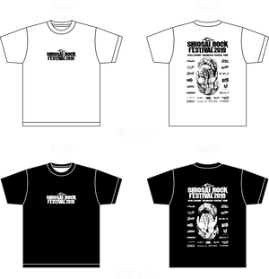 SRF2019 BAND LOGO T-Shirts