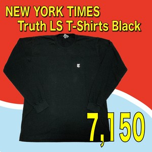 NEW YORK TIMES / Truth LS T-Shirts Black
