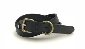 RE.ACT Buttero Narrow Belt  Black