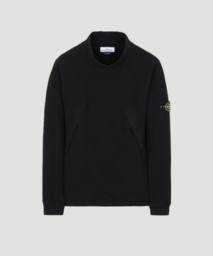 Stone Island Mock Neck Sweat Black 711561820