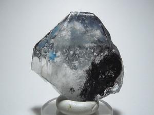 パパゴ石入り水晶 - Papagoite in Quartz