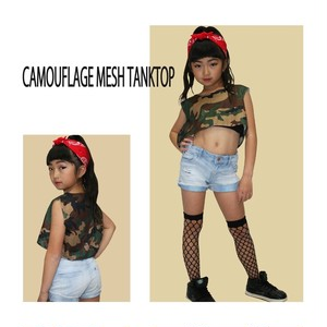 KIDS CAMOUFLAGE TANK TOP ※大人も着用可