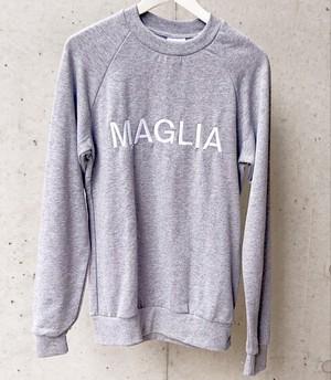 MAGLIA(マリア) スウェット 刺繍MAGLIA グレー