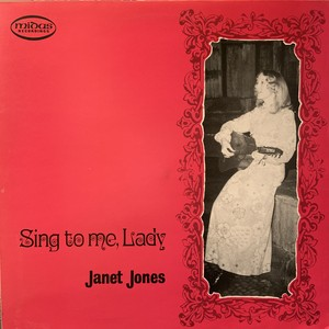 【LP】JANET JONES/Sing To Me Lady