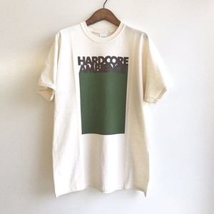 HARDCORE AMBIENCE T-shirt NATURAL