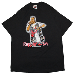 """""""Rappin'4-Tay / I'll Be Around"""" Vintage Rap Tee Used"""