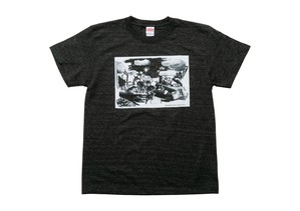 植田真梨恵 Tシャツ [ヘザーブラック] <M、L、XL>