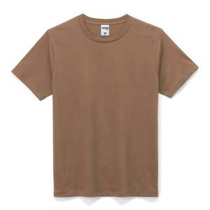 ライト クルーネックTシャツ (半袖) ブラウン
