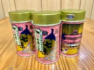 八幡屋磯五郎 梅七味ごま(ふりかけ)缶60g