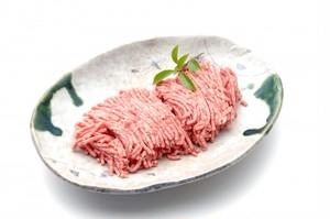 天然猪肉 ミンチ 500グラム (真空冷凍)