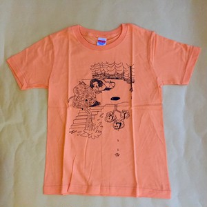 【SALE】shinowa T-shirt (Orange/150cm,S)