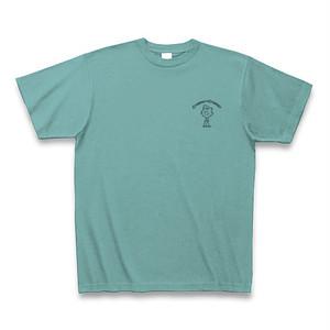 クレイマーくんロゴTシャツ:ミント