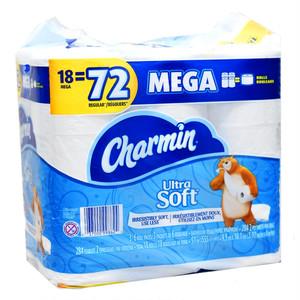 コストコ P&G シャーミン トイレットペーパー ダブル284枚×18パック | Costco P & G Charmin toilet paper double 284 sheets × 18 pack