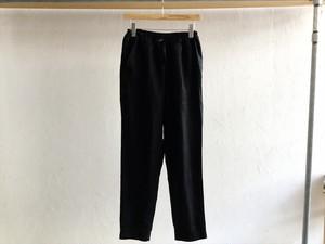 "Men's AUGUSTE-PRESENTATION Pajama Look""9分丈パンツ Black"""