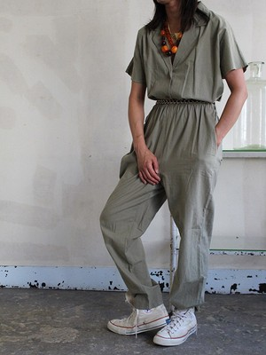 80s  cotton Jumpsuit