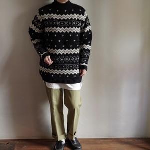 Mock neck Wool Sweater / モックネック ウール セーター