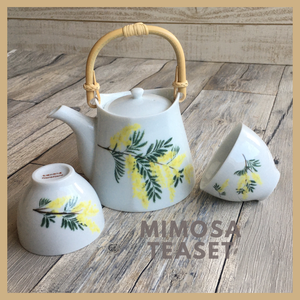 mimosaの茶器セット【受注制作】
