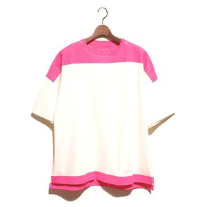 Product Print Wide Tee -pink <LSD-AI1T5>